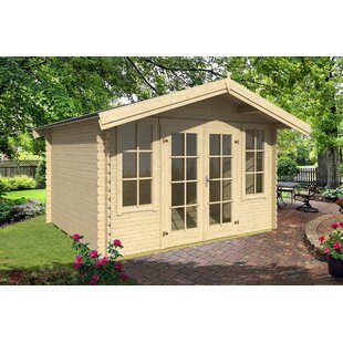 Euclid 11 X 9 Ft. Tongue And Groove Summer House By Sol 72 Outdoor