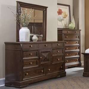 Greenbriar Dresser with Mirror by Bay Isle Home