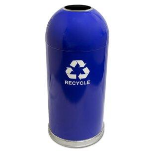 Witt Dome Top 15 Gallon Recycling Bin