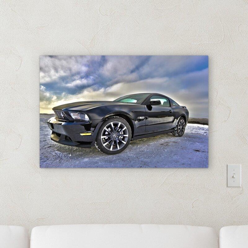 Rug Tycoon Ford Graphic Art Print On Canvas Wayfair