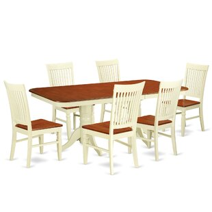 Pillsbury 7 Piece Extendable Dining Set b..