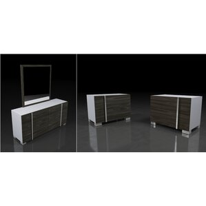 Cobbey 3 Drawer Dresser with 2 Nightstands by Wade Logan
