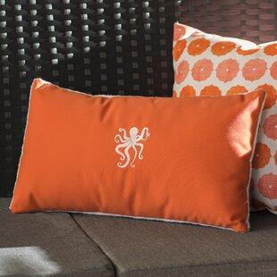 Dalton Octopus Outdoor Lumbar Pillow