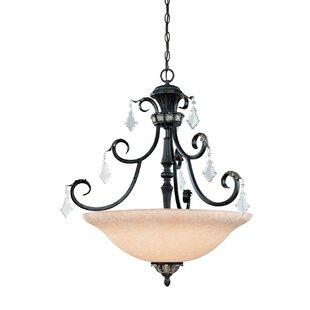 Dolan Designs Florence 4-Light Bowl Pendant