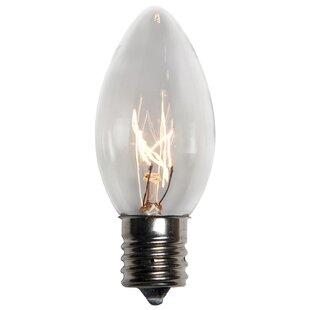 Wintergreen Lighting C9 Transparent Bulb (Set of 25)