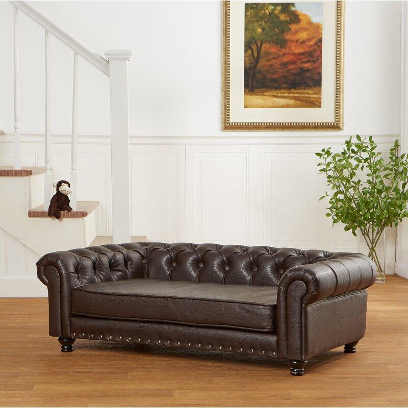 Archie & Oscar Cornelia Dog Sofa with Solid Foam Cushion & Reviews ...
