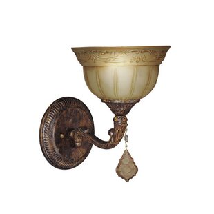 Lucerne 1-Light Bath Sconce by Woodbridge Lighting