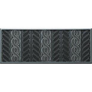 Cordino Black/Silver Stair Tread by Lako