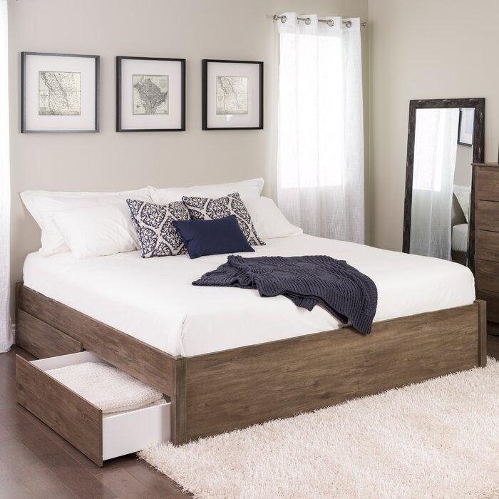 huge discount 69ed9 b0098 Sagamore Storage Platform Bed