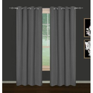 Heyworth Foulard Ikat Blackout Curtain Panels (Set of 2)
