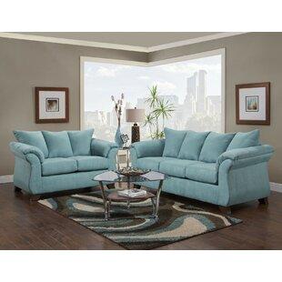 Saltzman Sleeper Configurable Living Room Set by Winston Porter