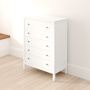 Ulus 5 Drawer Dresser by Mistana