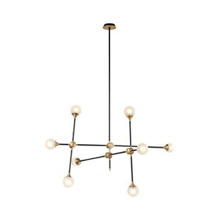 George Oliver Guillermo 8-Light Sputnik Chandelier
