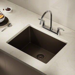 Granite Kitchen Sinks Undermount Undermount kitchen sinks youll love wayfair save to idea board workwithnaturefo