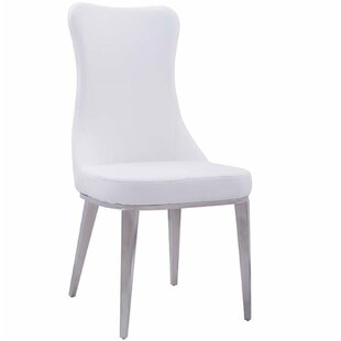 Fish Upholstered Dining Chair (Set of 2) by Orren Ellis