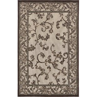 Augustine Beige/Brown Indoor/Outdoor Area Rug