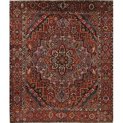 Vegetable Dye Antique Benites Persian Oriental Handmade Wool Area Rug 12 5 X 10 10 Astoria Grand