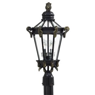Read Reviews Stratford Hall Outdoor 2-Light Lantern Head By Great Outdoors by Minka