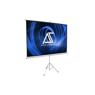 Akia 8K/4K Ultra HD 3D Ready Indoor/Outdoor Tripod White 100