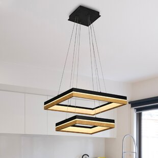 Brayden Studio Pyxis 2-Light LED Chandelier