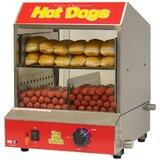 "The ""Dog Pound"" Hotdog Countertop Steamer 120V 1170W"