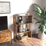 Proulx Wood Step Bookcase by 17 Stories