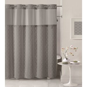 beige and gray shower curtain. Mosaic Shower Curtain Gray  Silver Curtains You ll Love Wayfair