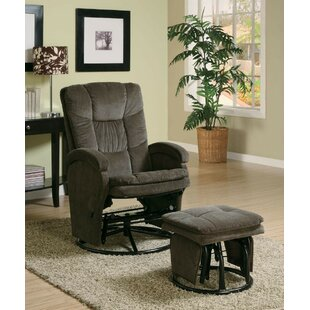 Maidste Baby Nursing Manual Glider Recliner with Ottoman by Harriet Bee