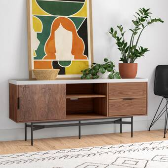 Allmodern Frida 71 Wide 2 Drawer Sideboard Reviews Wayfair