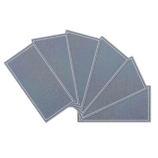 """Crystal 3"""" x 6"""" Beveled Glass Subway Tile in Violet by"""
