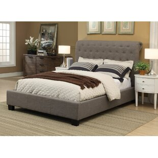 Modus Furniture Beverly Queen Upholstered Sleigh Bed