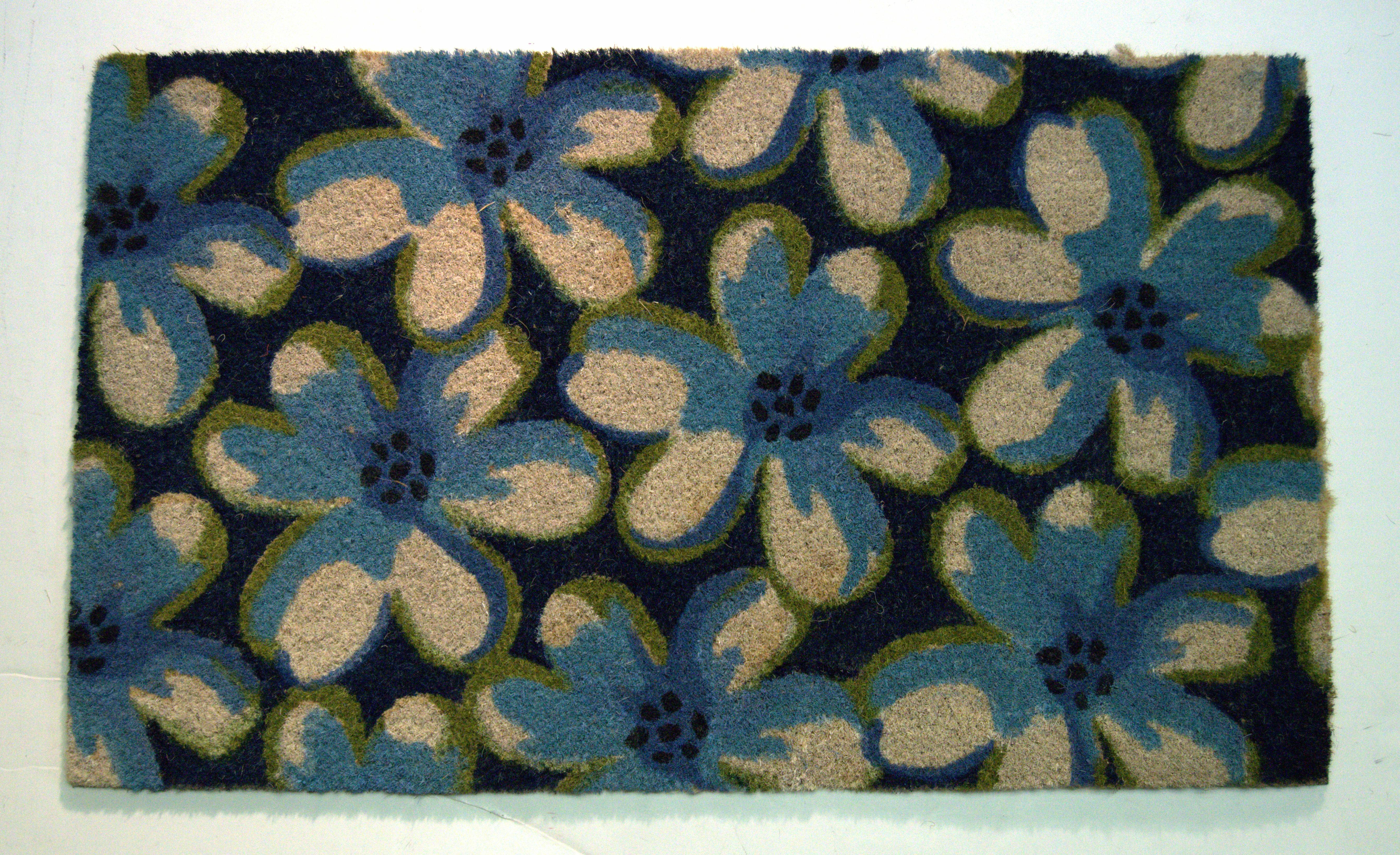 Winston Porter Cavallo Floral 30 In X 18 In Non Slip Outdoor Door Mat Reviews Wayfair