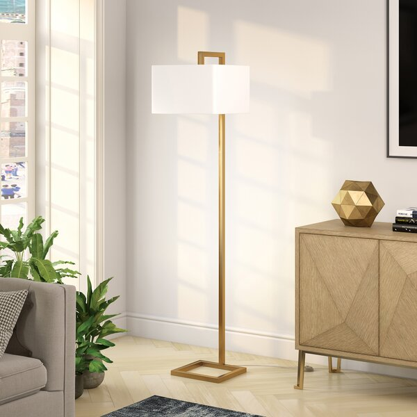 Brayden Studio Hesser 68 Quot Arched Floor Lamp Amp Reviews Wayfair Ca