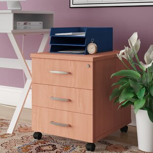 Mobile Pedestal 3 Drawer Filing Cabinet By Brayden Studio