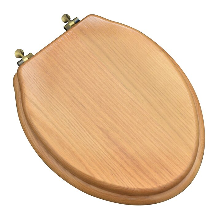 Incredible Designer Solid Oak Wood Elongated Toilet Seat Squirreltailoven Fun Painted Chair Ideas Images Squirreltailovenorg