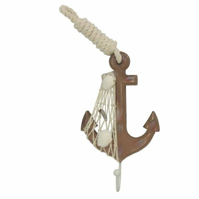 Rustic Anchor Wall Décor With Hook