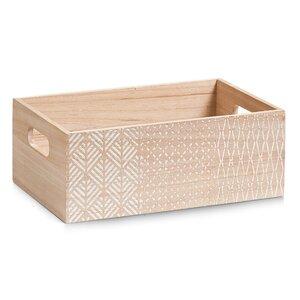 Kiste Nordic aus Holz von Zeller Present