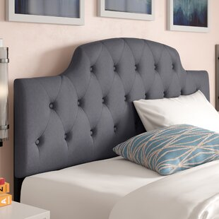 Inexpensive Colegrove Scalloped Upholstered Panel Headboard By Alcott Hill