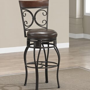 Matherville 26 Swivel Bar Stool DarHome Co
