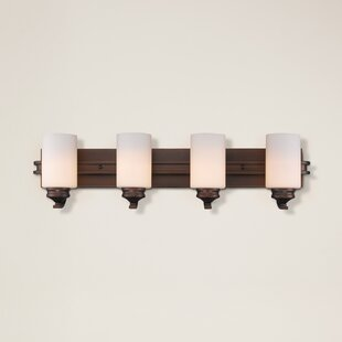 Best Price Russell Farm 4-Light Vanity Light By Three Posts