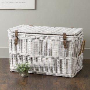 Vitiello Rattan Storage Trunk (Set of 2)