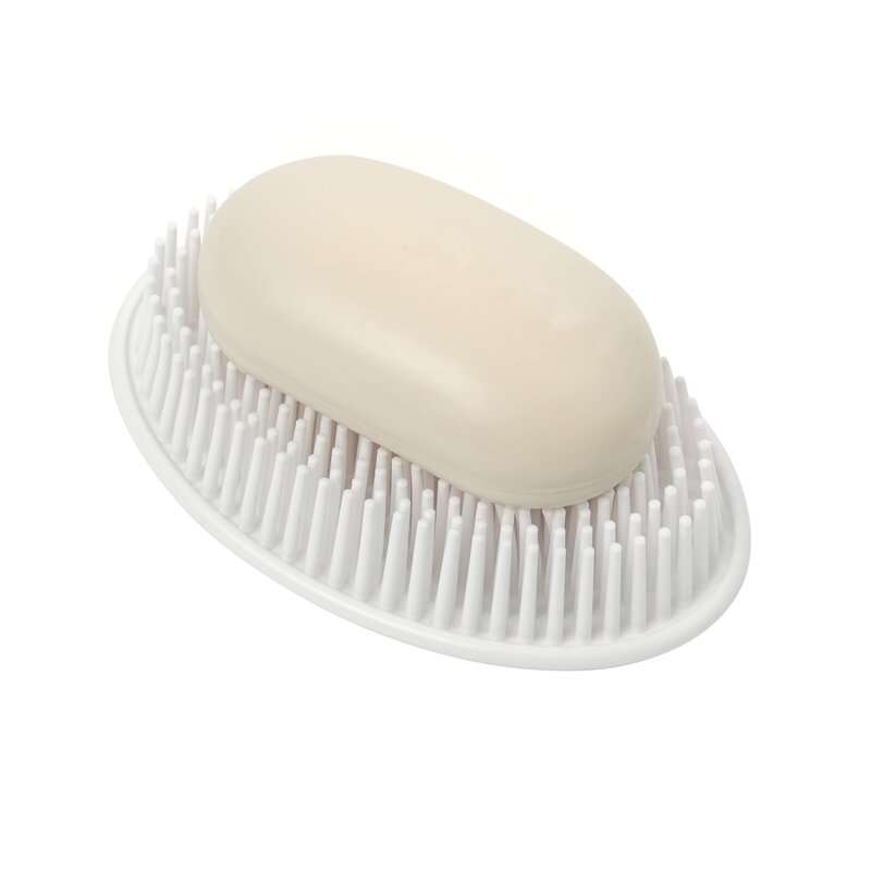 Soap Saver NEW 100/% White Rubber No More Mushy Soggy Bath or Shower Soap Bars