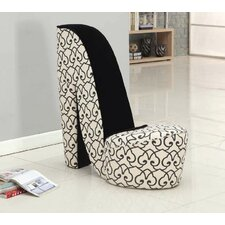 Bordertown High Heel Shoe Side Chair by Rosdorf Park
