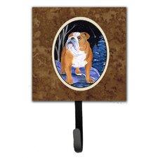 Starry Night English Bulldog Leash Holder and Wall Hook by Caroline's Treasures