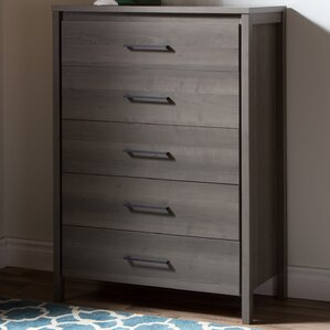 Dressers   Chest of Drawers You ll Love   Wayfair Gravity 5 Drawer Chest. Drawers For Bedroom. Home Design Ideas