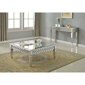 mirror coffee table sets you'll love | wayfair