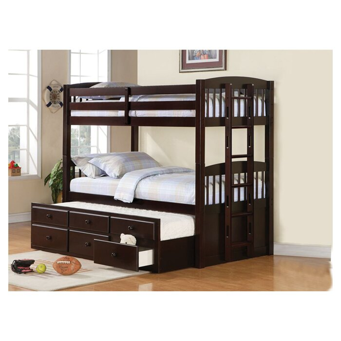 Viv Rae Grier Hammond Twin Bunk Bed with Ladder & Reviews