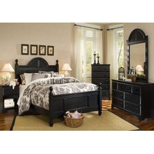Midnight Panel Customizable Bedroom Set by Carolina Furniture Works, Inc.