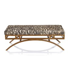 Boston Metal Bedroom Bench by Fashion N You by Horizon Interseas