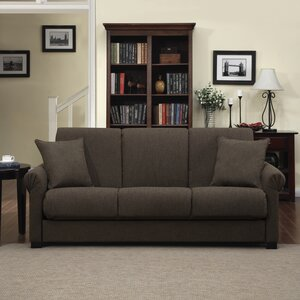 Lawrence Full Convertible Upholstered Sleeper Sofa by Alcott Hill